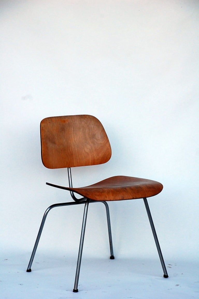 American Collector's Early Eames DCM Chair For Sale