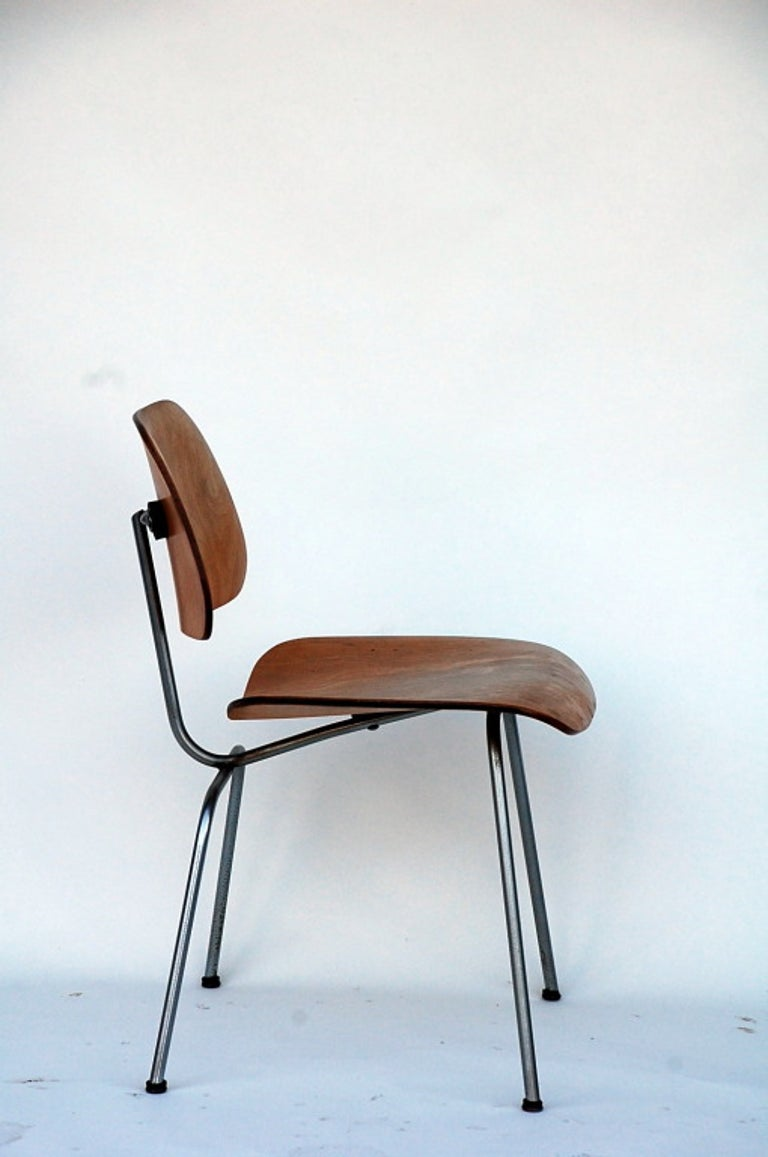 Mid-20th Century Collector's Early Eames DCM Chair For Sale