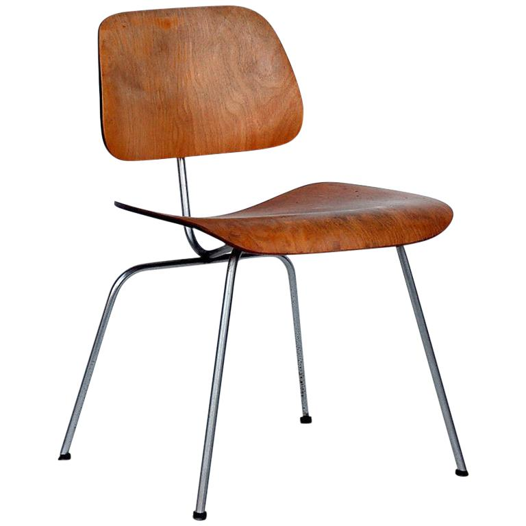 Collector's Early Eames DCM Chair For Sale