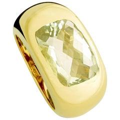 Colleen B. Rosenblat Certified 7.09 Carat Beryl Precious Basic Ring