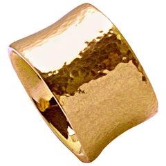 Colleen B. Rosenblat Hammered Rose Gold Ring