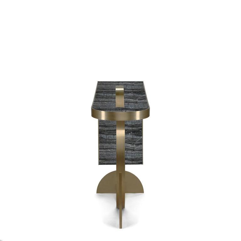 Italian Collision Console by Bohinc Studio, Duplex Exclusive For Sale
