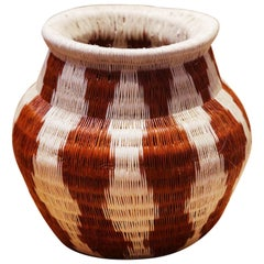 Colombian A Vase Hand-Braided