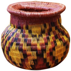 Colombian B Vase Hand-Braided