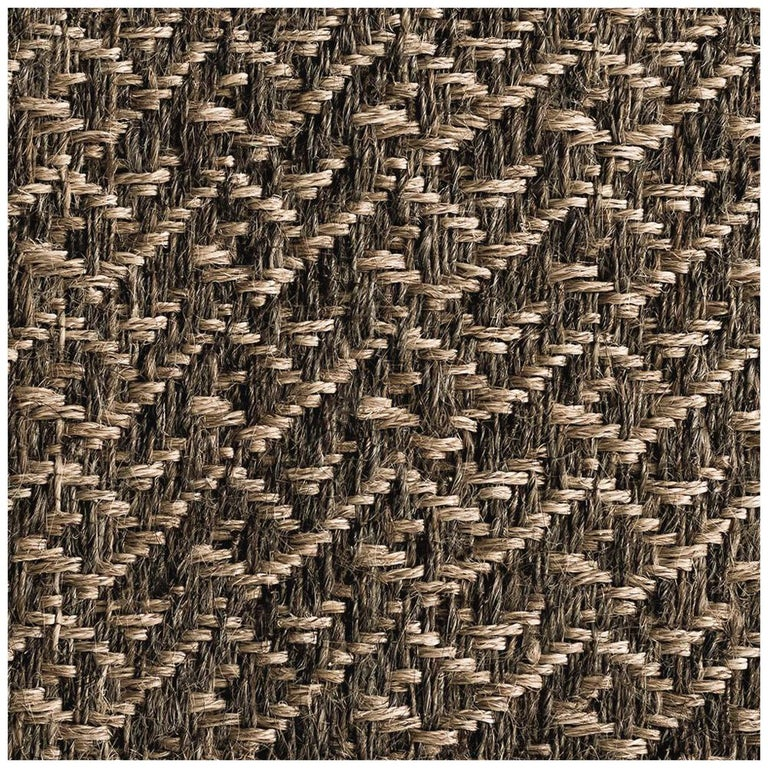 "Colombian Crin Rug, 2'6"" x 8' Runner ,Handwoven Horsehair and Jute Pre-Columbian For Sale"