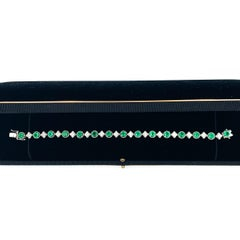 Colombian Emerald and Diamond Bracelet
