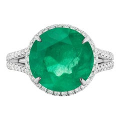 Colombian Emerald and Diamond Ring by Takat