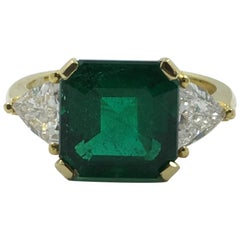 Colombian Emerald Ring # 21-11606
