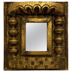 Colombian Gilded Wood Mirror