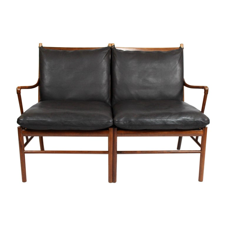 Colonial 2-Seat Sofa, Model OW149-2, by Ole Wanscher, 1960s For Sale