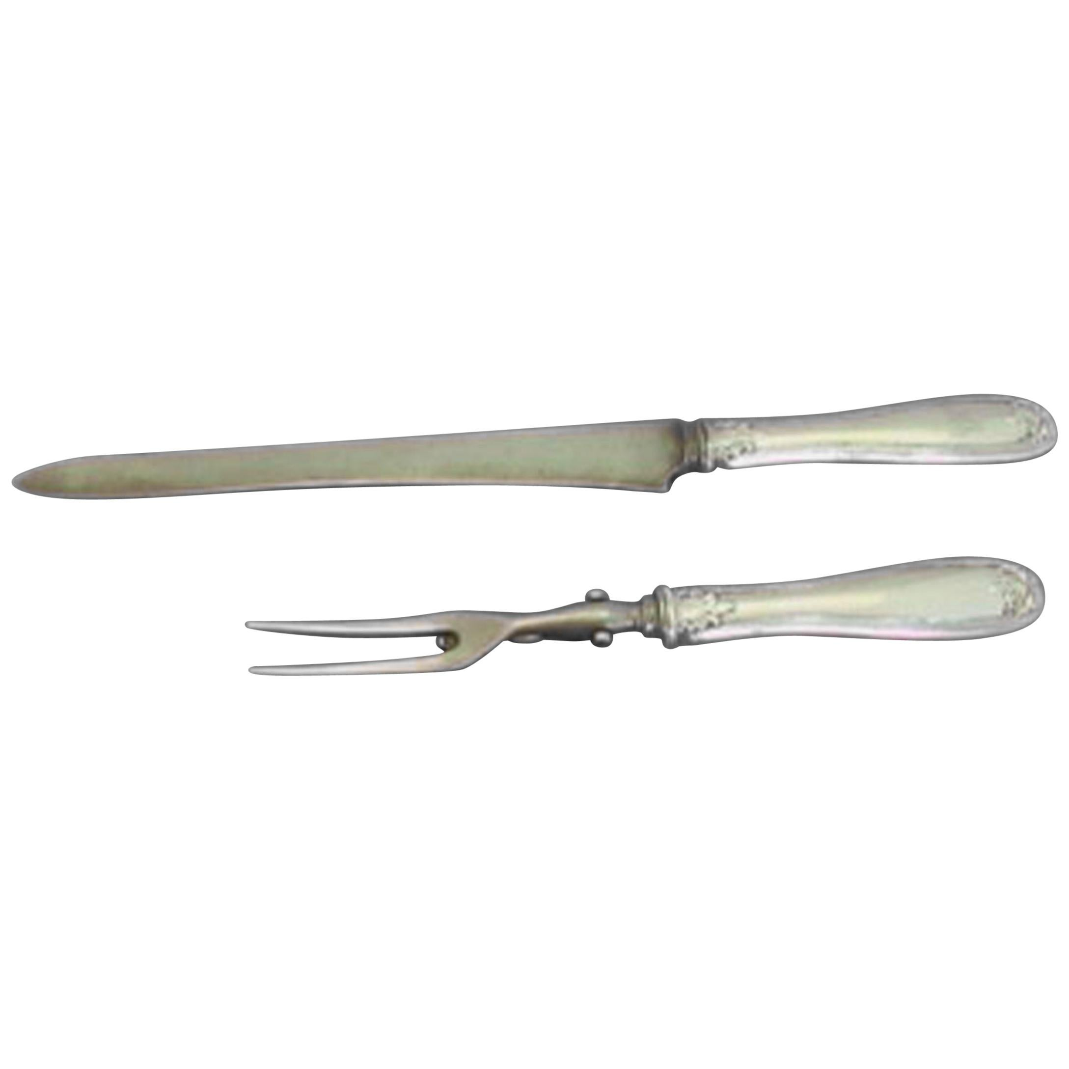 Colonial by Tiffany & Co. Sterling Silver Roast Carving Set 2pc