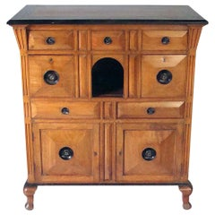Early 19th century Colonial Chest with Cupboards