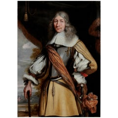 Colonial Old Master Portrait of Governor Rijcklof Goens by Jürgen Ovens, 1656
