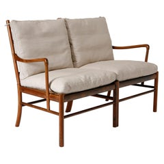 Colonial Two-Seat Sofa in Rosewood by Ole Wanscher