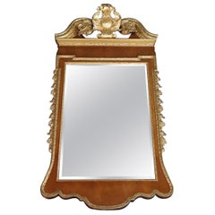 Colonial Williamsburg Friedman Brothers Gilded Georgian Style Mirror