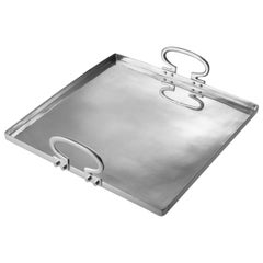 Colony Medium Aluminium Tray by Aldo Cibic