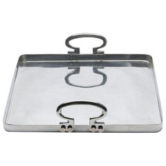 Colony Small Aluminium Tray by Aldo Cibic