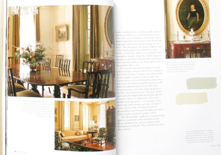 Color and Light Luminous Atmospheres for Painted Rooms, 1st Edition In Good Condition For Sale In Kinderhook, NY