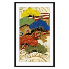 Color Bonsai II Japanese Print by CuratedKravet