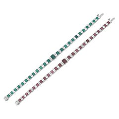 Color-Changing Alexandrite Bracelet, 8.24 Carat