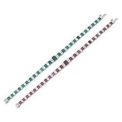 Color-Changing Alexandrite Bracelet, 8.24 Carat