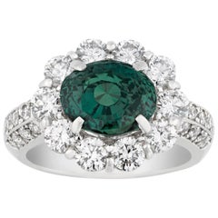 Color-Changing Alexandrite Ring, 4.52 Carat