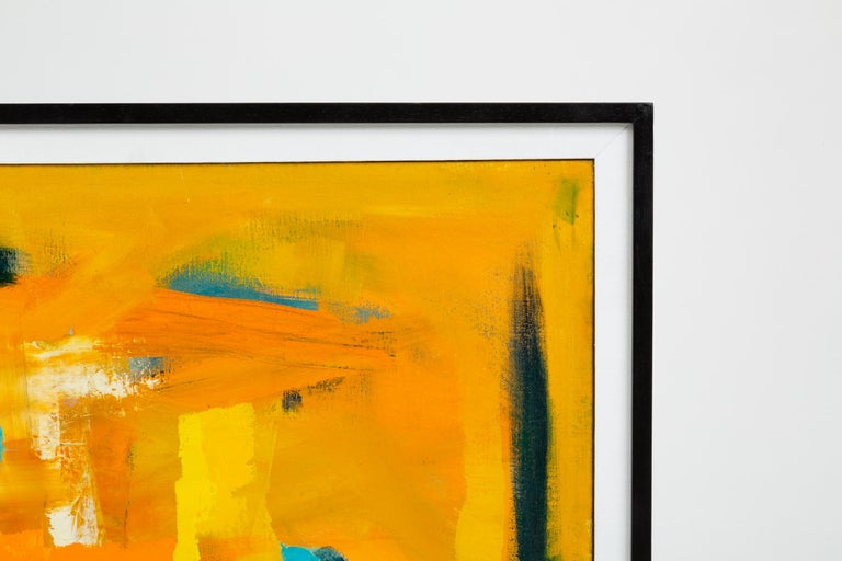American Color Field Painting Attributed to Millie Ehrlich For Sale