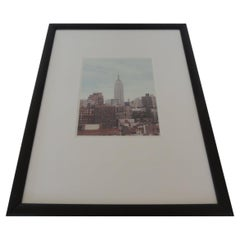 Color Photograph of Empire State Building New York City