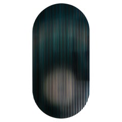 Color Shift Panel Indigo Black with Glass and Color Sublimated Mirror