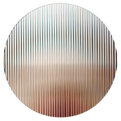Color Shift Panel Round, Trichroic Nude