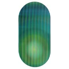 Color Shift Panel Small, Trichroic Emerald