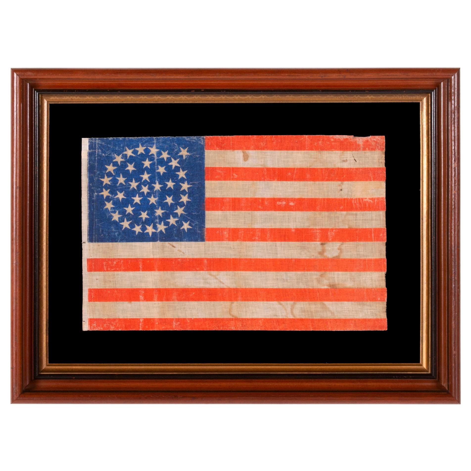 Colorado Statehood 38 Star American Parade Flag