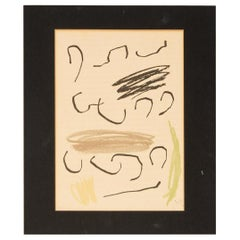 Colored Lithograph by Joan Miró