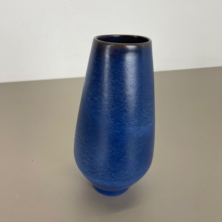 Colorful Abstract Ceramic Pottery Vase by Karlsruher Majolika, Germany, 1950s For Sale 3