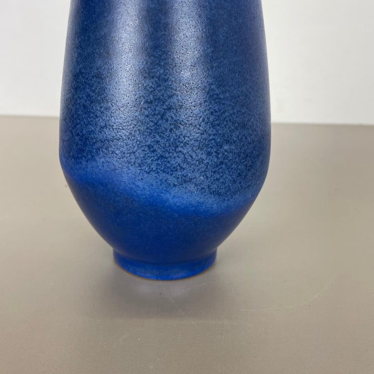 Colorful Abstract Ceramic Pottery Vase by Karlsruher Majolika, Germany, 1950s For Sale 4