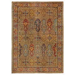 Colorful Antique Indian Carpet