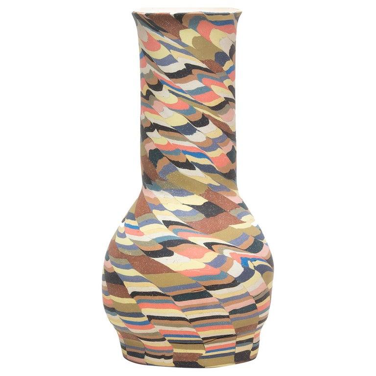 Colorful Ceramic Vase by Cody Hoyt