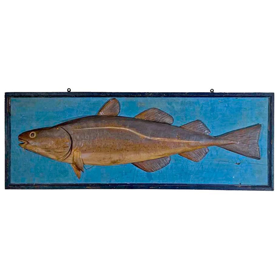 Colorful Codfish Plaque