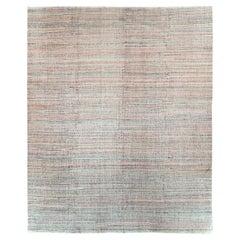 Colorful Contemporary Handmade Turkish Flat-Weave Kilim Large Room Size Carpet