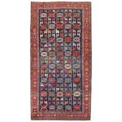 Colorful Early 20th Century Antique Karabagh Caucasian Rug