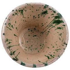 Colorful Glazed Earthenware Passata Bowl
