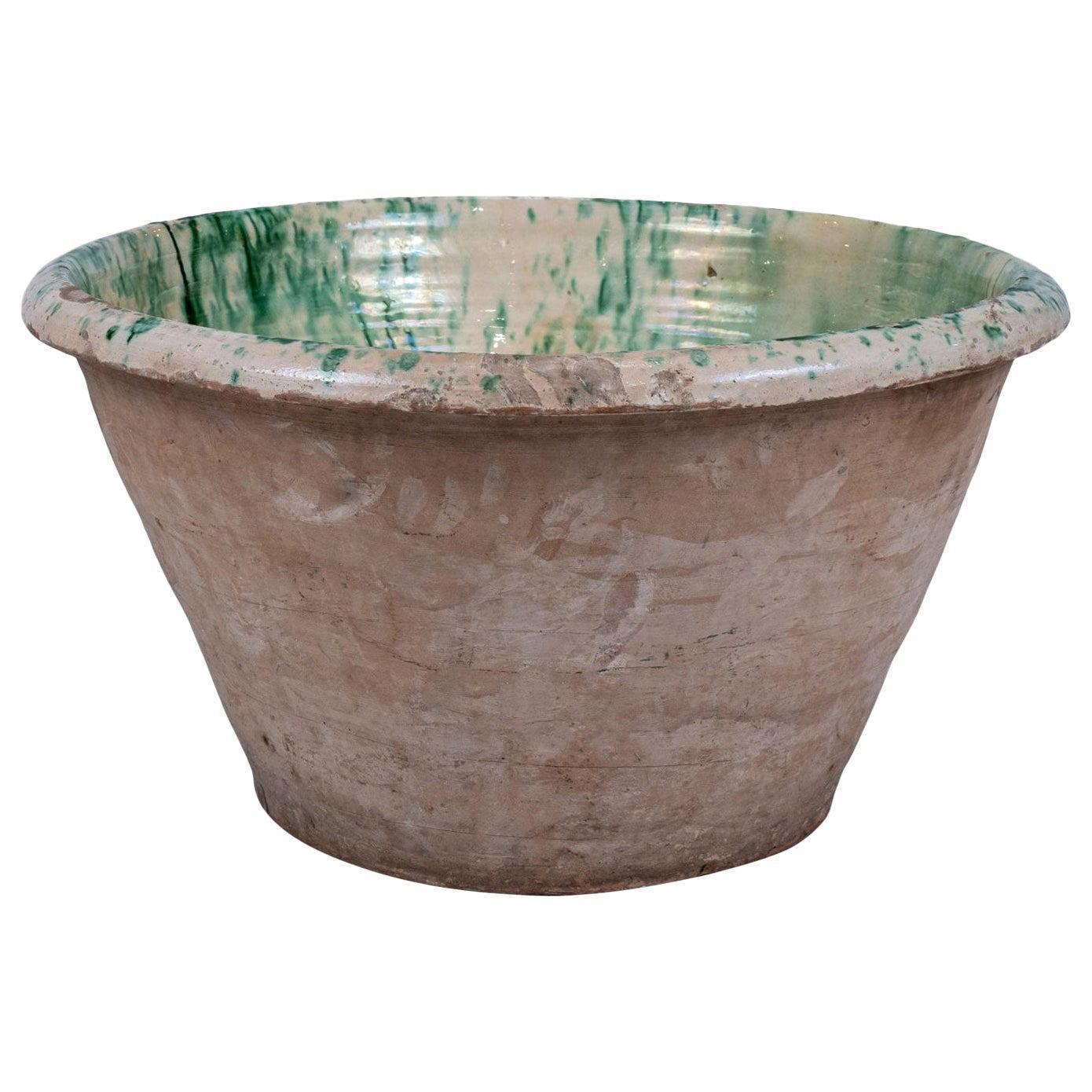 Colorful Glazed Terracotta Passata Bowl