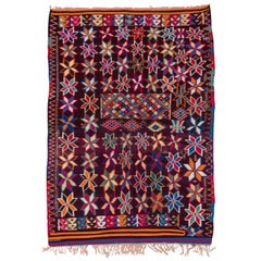 Colorful Moroccan Kilim Carpet