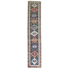 Colorful Persian Kurd Tribal Geometric Runner