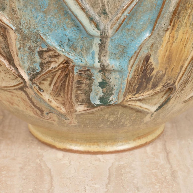 Modern Colorful Pottery Vase For Sale