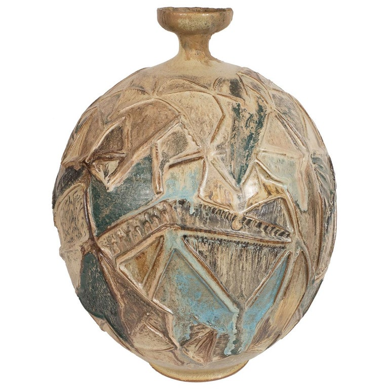 Colorful Pottery Vase For Sale