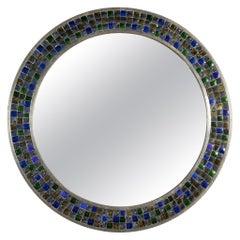 Colorful Round Tikria Mirror