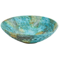 Colorful Sea Garden Bowl by Alvino Bagni for Raymor