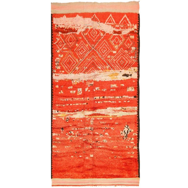 Berber Moroccan rug, 1960