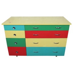 Colorful Vintage Dresser